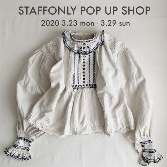 STAFFONLY POP UP SHOP